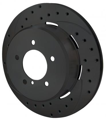 Wilwood Brakes SRP Drilled Performance Rotor & Hat 160-8685-BK