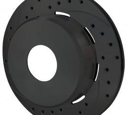 Wilwood Brakes SRP Drilled Performance Rotor & Hat 160-11553-BK