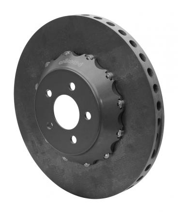 Wilwood Brakes C/SiC Rotor & Bobbin Mount Hat Assembly 165-15357