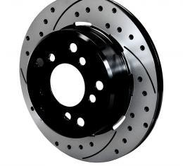 Wilwood Brakes SRP Drilled Performance Rotor & Hat 160-13336-BK