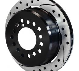 Wilwood Brakes SRP Drilled Performance Rotor & Hat 160-10328-BK