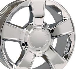 "20"" Fits Chevrolet - Tahoe Wheel - Chrome 20x8.5"