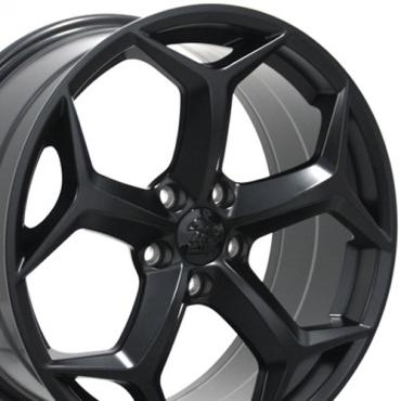 "18"" Fits Ford - Focus Wheel - Matte Black 18x8"
