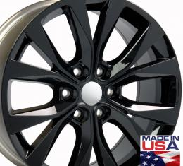 "20"" Fits Ford - F-150 Wheel - Black 20x8.5"