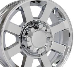 "20"" Fits Ford - F250-F350 Wheel Replica - Chrome 20x8"