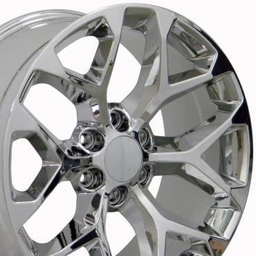 Sierra Style Chrome Replica Wheel Fits Chevrolet 20x9