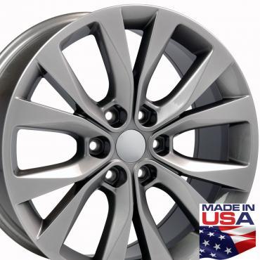"20"" Fits Ford - F-150 Wheel - Hyper Black 20x8.5"