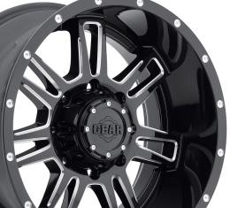 "20"" Fits Dodge - Gear Alloy Challenger Wheel - Gloss Black 20x9"