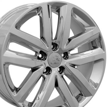 "18"" Fits VW Volkswagen - Jetta Wheel - PVD Chrome 18x7.5"