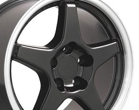 "17"" Fits Chevrolet - Corvette ZR1 Wheel - Black 17x9.5"