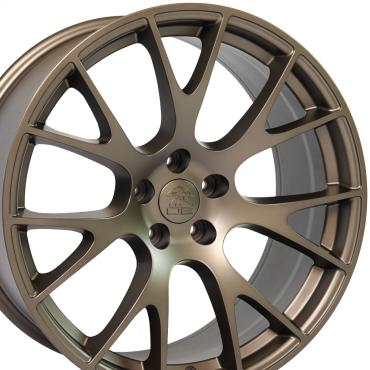 "22"" Fits Dodge - Ram Wheel Replica - Bronze 22x10"
