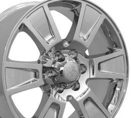 "20"" Fits Ford - F-150 Wheel - PVD Chrome 20x8.5"