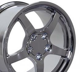 """17"""" Fits Chevrolet - Corvette C5 Wheel - Chrome 17x9.5"""