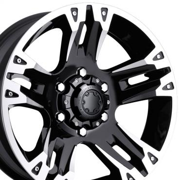 "20"" Fits Ford - Ultra Maverick Wheel - Black 20x9"