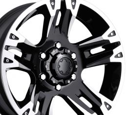 "20"" Fits Chevrolet - Ultra Maverick Wheel - Black 20x9"