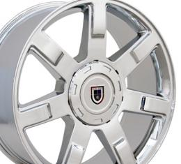 "24"" Fits Cadillac - Escalade Wheel - Chrome 24x10"