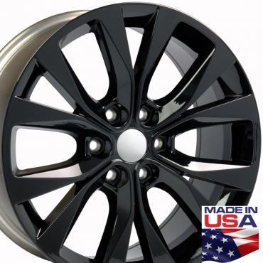 """20"""" Fits Ford - F-150 Wheel - Black 20x8.5"""