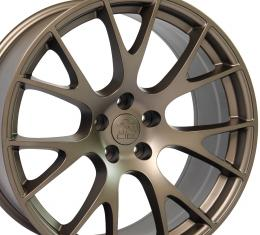 "22"" Fits Dodge - Ram Wheel Replica - Bronze 22x10"