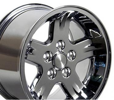 Chrome Wheel fits Jeep Wrangler 15x8