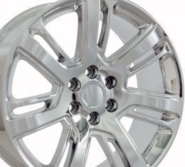 "24"" Fits Cadillac - Escalade Wheel - PVD Chrome 24x10"