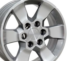 "17"" Fits Toyota - 4Runner Wheel - Silver Mach'd Face 17x7"