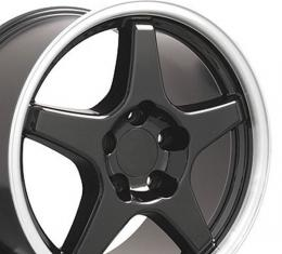 "17"" Fits Chevrolet - Corvette ZR1 Wheel - Black 17x9.5"