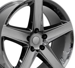 "20"" Fits Jeep - Grand Cherokee Wheel - Black Chrome 20x9"
