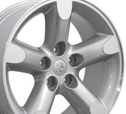 "20"" Fits Dodge - Ram 1500 Wheel - Silver Mach'd Face 20x9"
