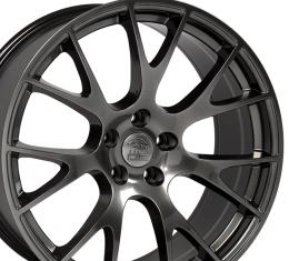 "20"" Hyper Black Wheel fits Dodge (Hellcat style) 20x9"