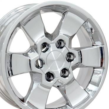 "17"" Fits Toyota - 4Runner Wheel - PVD Chrome 17x7"