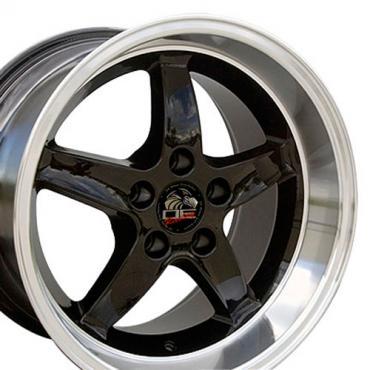 "17"" Fits Ford - Mustang Cobra R Wheel - Black 17x10.5"