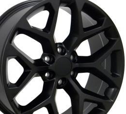 """22"""" Fits GMC - Sierra Wheel - Matte Black 22x9"""