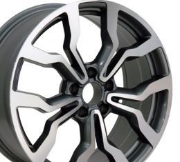 "18"" Fits Audi - R8 Wheel - Gunmetal 18x8"