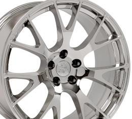 "22"" Fits Dodge - Ram Wheel Replica - Chrome 22x10"