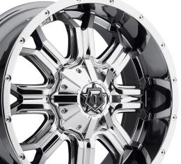 "20"" Fits Ford - TIS Offroad 535V Wheel - PVD Chrome 20x9"
