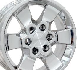 "17"" Fits Toyota - 4Runner Wheel - PVD Chrome 17x7"