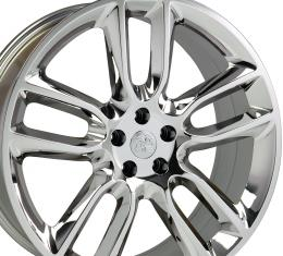 "22"" Fits Ford - Edge Wheel - PVD Chrome 22x9"