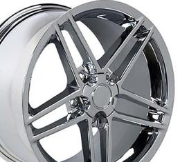 Chrome Rims fit Chevrolet Corvette (C6 Z06 style) 18x10.5