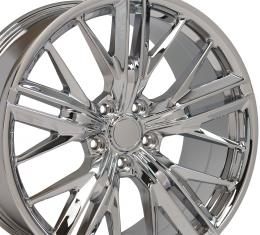 Chrome Wheel fits Chevrolet Camaro (ZL1 Style) - 20x9.5