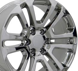 Chrome Replica Wheel Fits GMC (Sierra style) 20x9