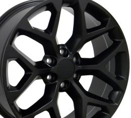"20"" Fits GMC - Sierra Wheel - Matte Black 20x9"