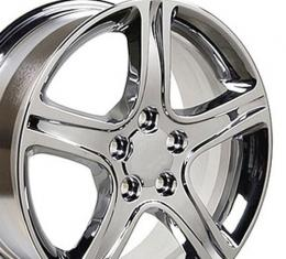 "17"" Fits Lexus - IS Wheel - Chrome 17x7"