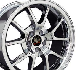 """18"""" Fits Ford - Mustang FR500 Wheel - Chrome 18x9"""