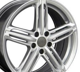 "18"" Fits Audi - RS6 Wheel - Hyper Silver 18x8"