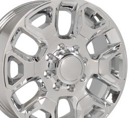Chrome Replica Wheel with Chrome Inserts fits Ram 2500-3500 - 20x8