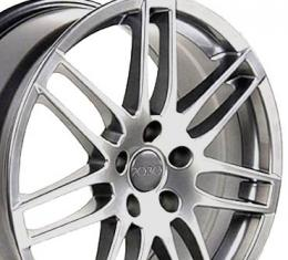 "18"" Fits Audi - RS4 Wheel - Hyper Silver 18x8"