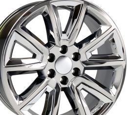 "20"" Fits Chevrolet - Tahoe Wheel - Chrome with Chrome Inserts 20x8.5"