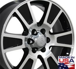 "20"" Fits Ford - F-150 Wheel - Black Mach'd Face 20x8.5"