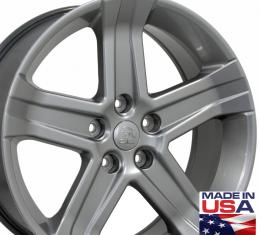 "22"" Fits Dodge - 1500 Wheel - Hyper Silver 22x9"