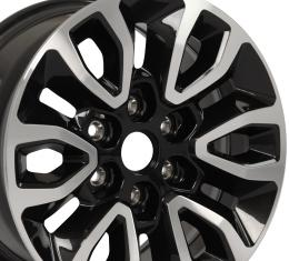 "17"" Ford - F150 Raptor Factory Original Wheel - Black Machined Face 17x8.5"
